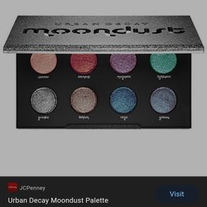 Urban Decay Moodust palette (swatches few times)